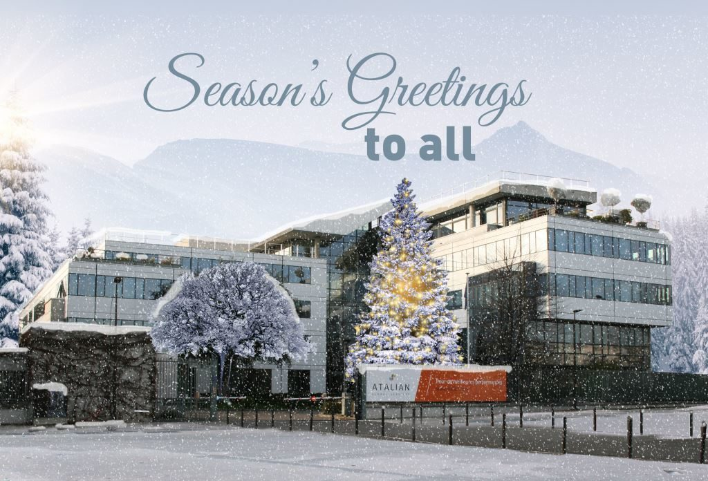 2018, Season's greetings, Happy New Year 2018,